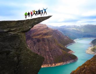 Hành trình tới Lưỡi quỷ Na Uy