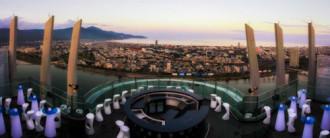 Vẻ đẹp Đà Nẵng về đêm từ độ cao gần 200m
