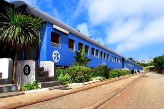Khách sạn xe lửa độc đáo bên bờ biển Nam Phi