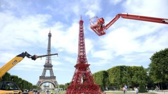 Tháp Eiffel có thêm 'em gái'