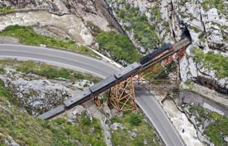 Cây cầu mang tên địa ngục ở Peru