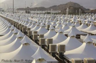 Mina, thành phố của những túp lều