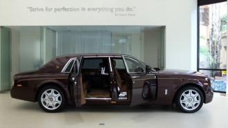Rolls-Royce giới thiệu chiếc xe duy nhất thế giới tại Hà Nội