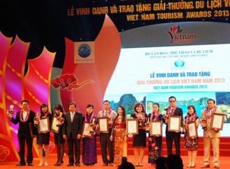 70 doanh nghiệp nhận Giải thưởng Du lịch Việt Nam năm 2013