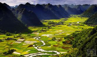 Thung lũng Bắc Sơn đẹp lộng lẫy trên trang tin nước ngoài