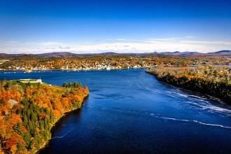 Cảnh đẹp thơ mộng của New England khi vào Thu