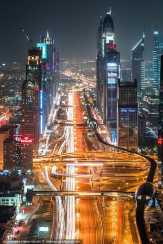 Chùm ảnh: Dubai hoa lệ và lộng lẫy nhìn từ trên cao
