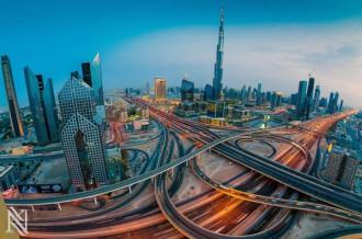 Loạt ảnh Dubai hoa lệ và lộng lẫy nhìn từ trên cao