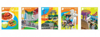 Singapore phát hành tem kỷ niệm 50 năm du lịch