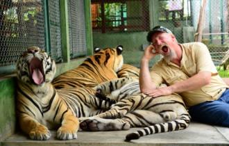 Thái Lan mở cửa trở lại một công viên hổ