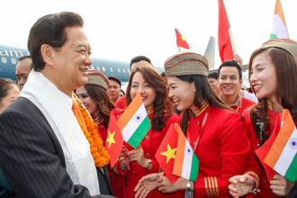 Vietjet lần đầu tiên bay tới Ấn Độ