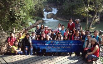 """Cuộc thi """"Cùng non sông cất cánh"""" và hành trình Về thăm Đông Bắc"""