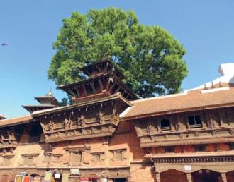 Durbar Square, Kathmandu, Nepal: Quảng trường của các hoàng cung