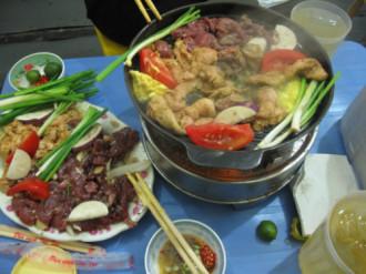 Thưởng thức các món nướng khi chớm đông ở Hà Nội