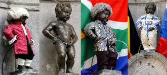 Bí mật sau những bức tượng đứng 'tè' ở Brussels