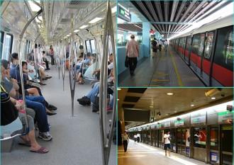 Đi tàu điện ngầm, cách tiết kiệm chi phí khi du lịch Singapore