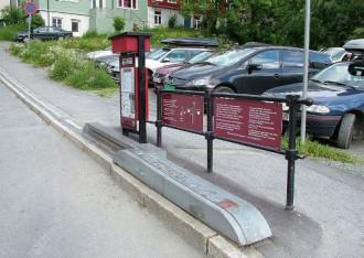 Độc đáo cầu thang tự động cho người đi xe đạp ở Na Uy