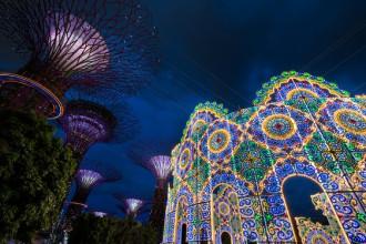 Đón Giáng sinh và năm mới tưng bừng ở quốc đảo Singapore