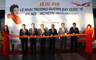 Khai trương đường bay mới Hà Nội - Incheon
