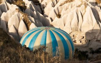 Khinh khí cầu rơi ở Thổ Nhĩ Kỳ một du khách thiệt mạng