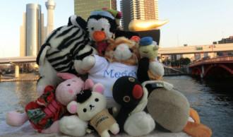 Nhật Bản bán tour cho gấu nhồi bông