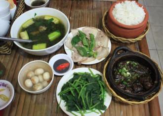 Quán ăn mang hương vị bắc giữa Sài Gòn