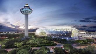 Singapore xây sân bay đẹp như mơ