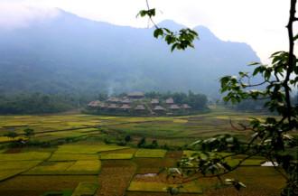 Thiên nhiên hoang sơ tại Mai Chau Ecolodge