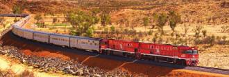 Hành trình trên chuyến tàu The Ghan xuyên nước Úc