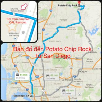 Potato Chip Rock - Tảng đá lát khoai tây độc đáo