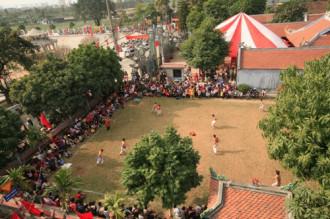 6 lễ hội xuân thượng võ ở phía Bắc