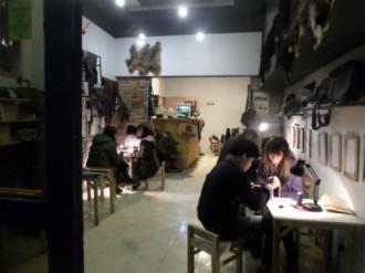 Cà phê đồ da - ý tưởng mới cho ngày 14/2 ở Hà Nội