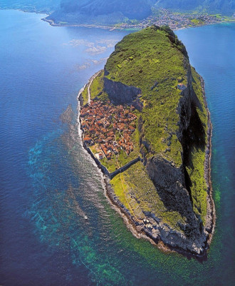 Monemvasia - thị trấn bí ẩn tại đất nước của các vị thần