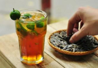 Trà quất và soda cho ngày hẹn hò cuối tuần ở Hà Nội