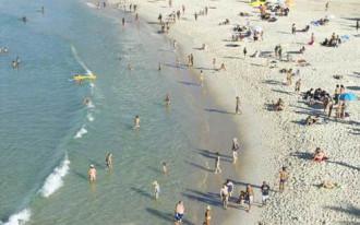 Trộm cắp hoành hành trên bãi biển của Rio de Janeiro
