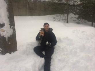 Tuyết được đóng chai để bán cho vùng ấm hơn