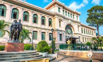 Bưu điện Sài Gòn - nơi tuyệt vời để gửi thư
