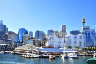 Cầu cảng Darling Sydney đẹp ngỡ ngàng giữa trời xanh