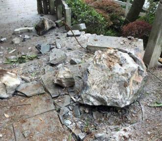 Đá lở đè chết 7 du khách ở Trung Quốc