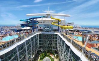 Du thuyền lớn nhất thế giới sắp hoàn thành