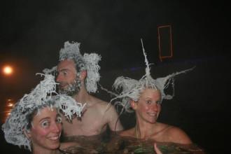 Kỳ thú cuộc thi 'tóc đông lạnh' quốc tế 2015