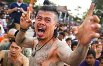 Lễ hội xăm Sak Yant kỳ bí ở Thái Lan