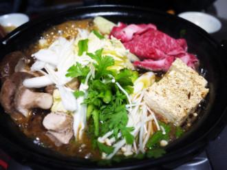 Món lẩu khô Nhật Bản tại Sushi Kei