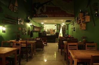 Xưa Cafe - không gian gợi nhớ một thời chiến tranh ở Hà Nội