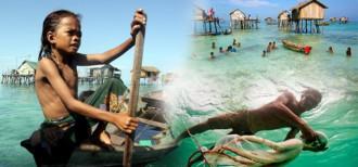 """Cuộc sống giữa biển khơi như thiên đường của bộ tộc """"Người cá"""""""