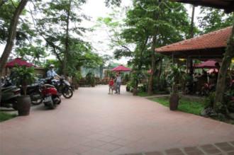 Quán cà phê không gian xanh mướt dịp 30/4 ở Hà Nội