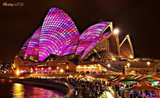 Choáng ngợp với Đại tiệc âm nhạc ánh sáng Sydney