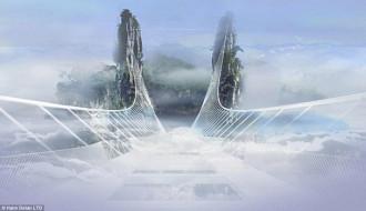 'Choáng' với cây cầu bằng kính đáng sợ nhất thế giới ở Trung Quốc