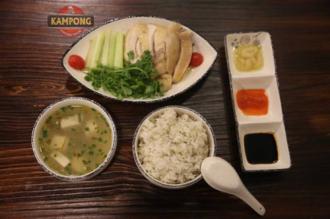 Cơm gà Hải Nam trên phố Lò Đúc