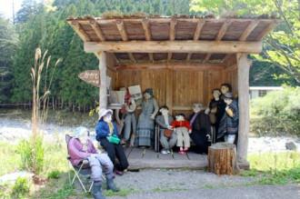 Đượm buồn ngôi làng Nhật Bản ít người hơn bù nhìn
